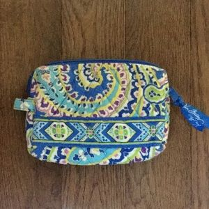 Vera Bradley Cosmetic Bag 💗 Capri Blue